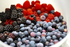 Various berries