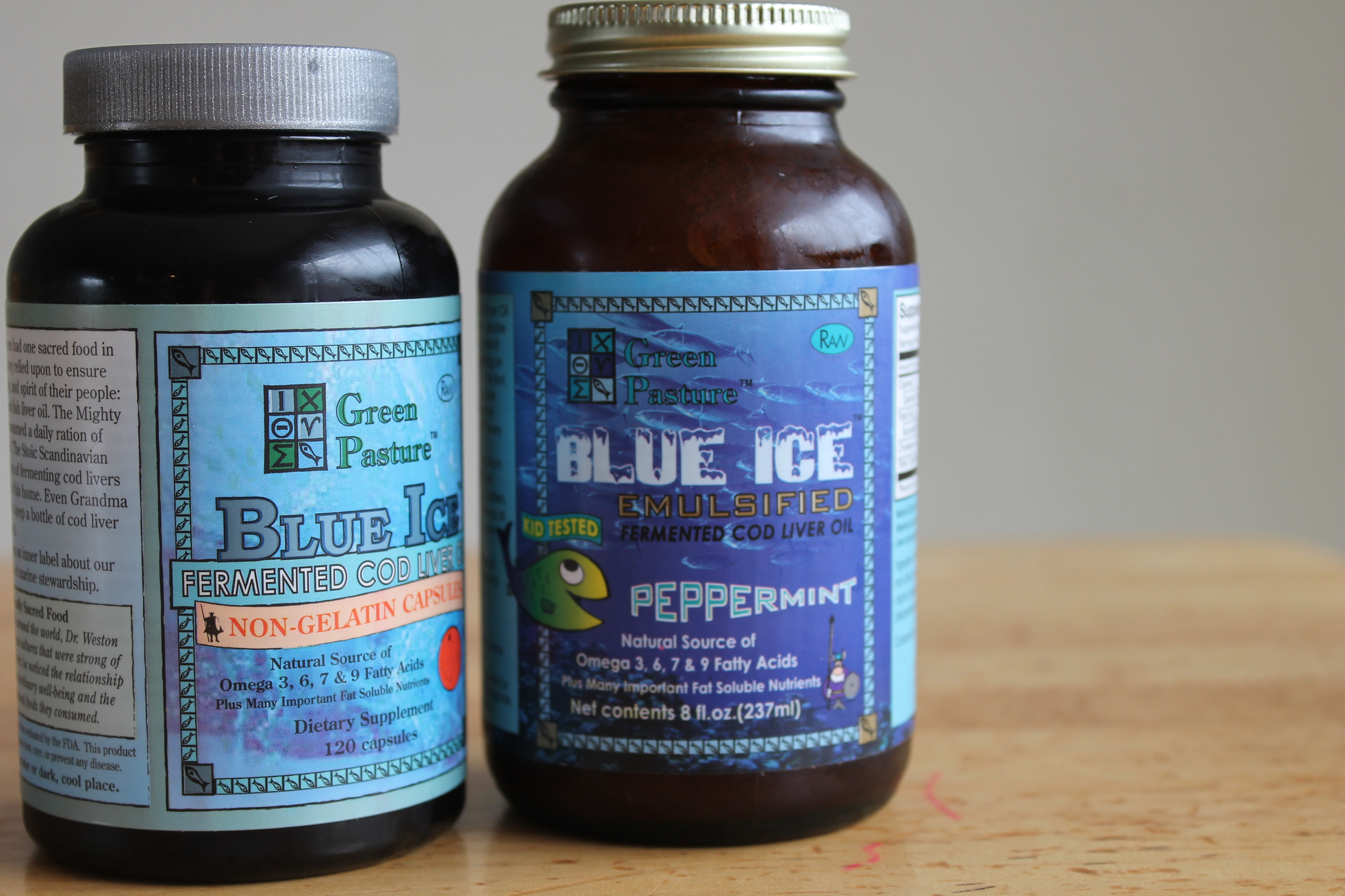 Cod Liver Oil Vs Flax Seed Oil