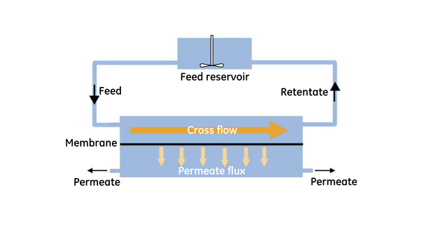 cross-flow-membrane-filtration