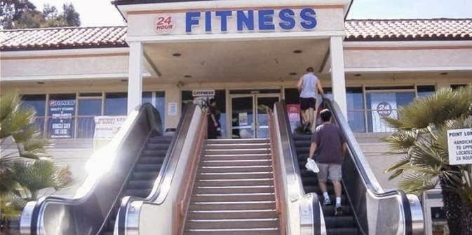 escalator-to-gym