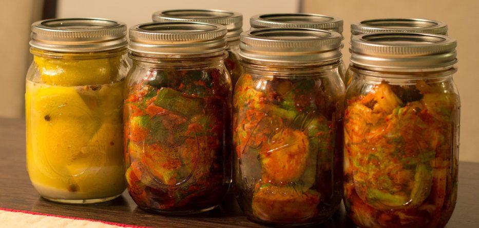Fermenting in a jar