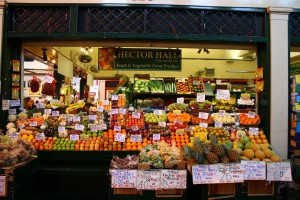 Fruit and veg store