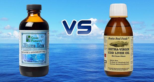 Rosita evclo vs green pastures cod liver oil for Cod liver oil vs fish oil