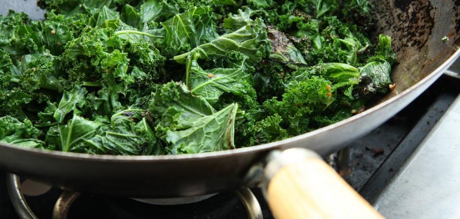 Kale, delicious!