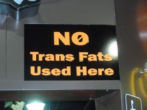 Ban trans-fats!