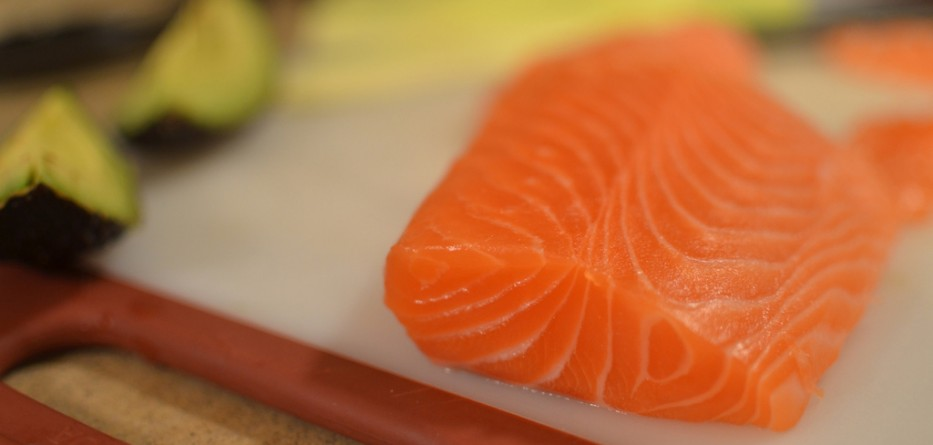Salmon is high in Omega-3!