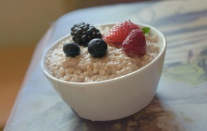 porridge-fruit