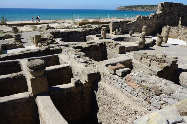 Roman garum salt pits