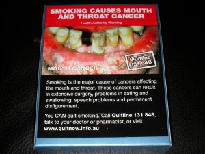 Graphic images on cigarettes don't work
